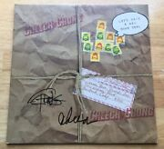 Cheech And Chong Signed Autograph Let's Make A New Dope Deal Vinyl Record Album