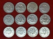 Portugal / Full Collection Of 250 Silver Coins 12 Coins Lote Nandordm 119
