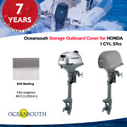 Oceansouth Outboard Motor Half / Storage Cover For Honda 1 Cyl 57cc