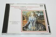 Grieg Peer Gynt Holdberg Suites Nos 1 And 2 Cd 1987 Pacific Music 8.550021