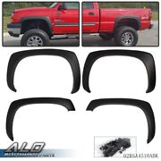 Fit For Gmc Sierra Chevy Silverado 99-06 Matte Factory Style Fender Flares