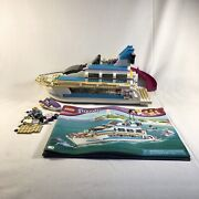 Lego Friends Dolphin Cruiser Boat 41015 Pre Owned Incomplete Near Complete Rare