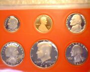 1981-s Type 2 Us Proof Set, Clear S, All Coins Appear Deep Cameo