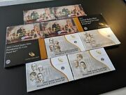 2007 - 2016 Presidential Dollar Proof Sets Complete 39 Coins Lot Of 10