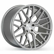 20andrdquo Rohana Rfx10 Brushed Titanium Wheels For Ford Mustang V6 Gt 20x9 20x11
