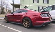 20andrdquo Rohana Rfx10 Brushed Bronze Wheels For Ford Mustang V6 Gt 20x9 20x11