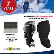 Oceansouth Outboard Storage Full Cover For Suzuki V6 4.4l 30 Leg