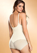 Make Your Offers Leonisa Undetectable Firm Control Bodysuit Shaper Size S