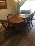Antique Solid Cherry Dining Room Furniture