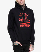 Friday The 13 Movie Tour Jason Pullover Hoodie Sweatshirt New 100 Authentic
