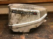 Chrysler 8 Outboard Engine Upper And Lower Cover With Switches For Parts C026
