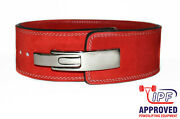 Strength Shop 13mm Red Powerlifting Lever Belt Xl - Fast Shipping