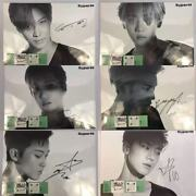 Official Superm Member Signed Poster In Stayflats Mailer