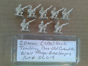 20mm 1/76 Scale Tumbling Dice Old Contemtibles Wwi Range - British Glengarry