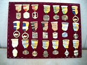 Vintage Rifle And Pistol Assn. Medals Medallions From New Mexico 1940-1950