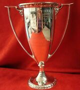 Sterling Trophy By Gorham 2 1/4 Pt. Wolff And Marx Company 1919 San Antonio Tx