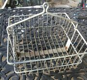 Vintage Miners Locker Basket From Northern California Gold Country Silver Mines
