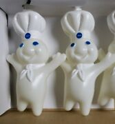 Collectors Vintage Pillsbury Doughboy Party Lights 1999 New = A2