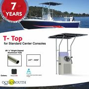 Oceansouth Boat T-top For Standard Center Console Boat Black Size 2
