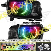 Oracle Halo Headlights Chevrolet Camaro Rs 10-13 Led Colorshift Simple Rgb And Hid