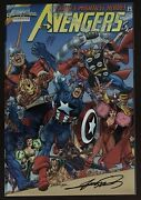Marvel Collectible Classic Avengers 1 Variant 1998 Special Chrome Comic Book