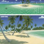 56wx18h Perfect Landing By Dan Mackin - Palm Trees Island - Choices Of Canvas