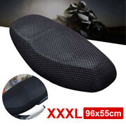 Xxxl Motorbike Moped Seat Cushion 3d Breathable Motor Mesh Net Scooter Cover Mat
