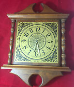 Woodcroftery Wall Clock 1970s