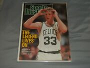 4 Different Larry Bird Magazines Si, Sporting News, Inside Sports