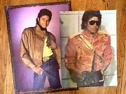 Lot Of 2 Michael Jackson King Of Pop Music Icon Paper Posters