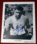 Huge Lot Heavyweight Boxing Champs Signed Photos Jack Dempsey Joe Frazier Holmes