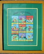 Mike Peters Signed Mother Goose And Grimmy's Golf Classic Ltd Ed Low Mint Cond
