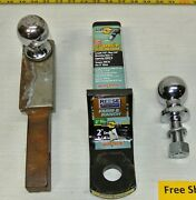 Trailer Hitch Balls Ctp 2 - Valley 1 7/8 And Mounts Interlock 2154233 - Towing