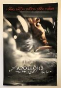 Tom Hanks Paxton Bacon Sinise Signed Autograph Apollo 13 27x40 Movie Poster
