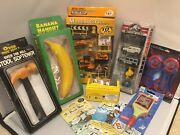 Toy Lot In Boxes Junk Drawer Spider-man, Jurassic World, Cars, Original Boxes