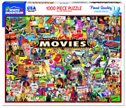 White Mountain Puzzles The Movies - 1000 Piece Jigsaw Puzzle