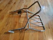 Harley Davidson Oem Breakout Detachable Backrest @ Luggage Rack In One Low Mile