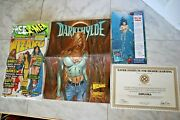 Wizard July 1998 Magazine Cover 1 Of 2 + Diploma + Darkchylde Poster Nm