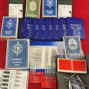 New Bulk Lot Industrial Sewing Machine Needles For Janome, Singer, Brother, Juki