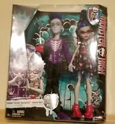 Monster High 2-pack Slo Man And Ghoulia Doll Set Loves Not Dead Slo Mo
