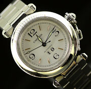 Pasha Big Date Stainless Steel.
