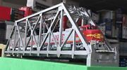 New York 1907 Ho Brass Pin Connected Truss Bridge 187 Handmade In Limited Qty.