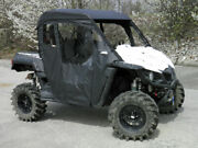 Soft Top + Rear + Doors For Existing Windshield Yamaha Wolverine + R-spec New