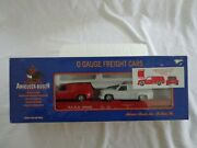 Rail King By Mth O Gauge Anheuser-busch Car With Sport Trucks