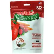 Organic Vegetable And Tomato Fertilizer Spikes, 50 Spikes