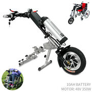 48v 350w E-tractor Attachment Handbike Kits+10ah Battery For Electric Wheelchair