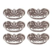 6 Cabinet Pull Pewter Solid Brass Scalloped Bail | Renovator's Supply