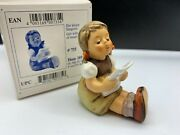 Hummel Figure 389 Die Small Singer 2 13/16in 1 Quality. With. Top Condition