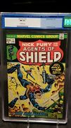 Nick Fury And His Agents Of Shield 1 - Steranko - Cgc Blue 9.4 - 249 Obo