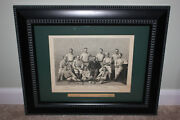 Rare Antique 1882 Harperand039s Weekly Providence Grays Team Woodcut George Wright